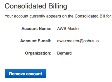 Delegated Billing Setup